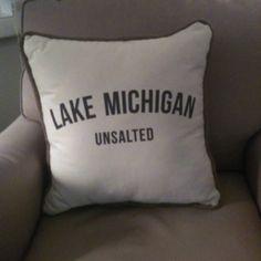 Michigan pillow