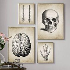 Brain Painting, Mural Painting, Mural Art, Vintage Wall Art, Vintage Walls, Vintage Posters, Vintage Canvas, Canvas Wall Art, Wall Art Prints