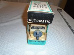 Vintage Craftsman NOS Water Meter. / Water hose Timer / craftsman / IOB / Automatic water timer/ Automatic water meter by Montyhallsshowcase on Etsy