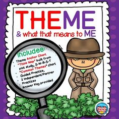 This mini lesson can be used after teaching plot. Teach your students the strategy for how to find the plot in literary texts. Anchor Charts, Think Map, and Common Theme Charts are included and can be projected or made into posters. Comprehension Strategies, Reading Strategies, Reading Skills, Reading Activities, Reading Lessons, Reading Comprehension, Teaching Plot, Teaching Themes, Theme Anchor Charts