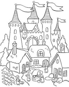 My Little House: coloring