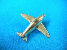"""FREE SHIP Sterling Silver Airplane Pin 1.5 x 1.5"""" marked 925 - BearlyArtDesigns Store by BearlyArtDesigns on Etsy https://www.etsy.com/listing/210896470/free-ship-sterling-silver-airplane-pin"""