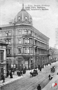 Kamienica Scheiblerów, Łódź - 1909 rok, stare zdjęcia
