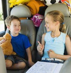 These simple backseat games and activities ideas are perfect for keeping kids in the car entertained during road trips or rush-hour traffic.