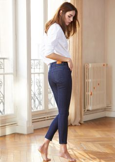 French Girls Went Crazy for These New Jeans via @WhoWhatWearUK