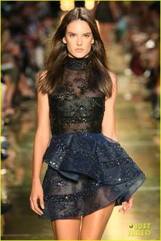 alessandra ambrosio hits the runway for alex perry fashion show 05 Alessandra Ambrosio is fierce and fabulous as she struts her stuff at the Alex Perry Fashion Show held during 2014 Mercedes-Benz Fashion Week Australia at Carriageworks…