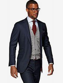 Sienna Blue suit from Suitsupply