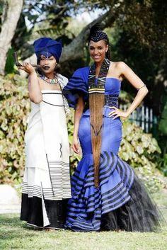 the best sotho shweshwe dresses 2014 Xhosa Attire, African Attire, African Wear, African Women, African Dress, African Outfits, African Style, African Traditional Wedding Dress, African Wedding Dress