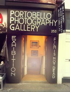 18 - (Might have been changed to a Banksy shop) Portobello Photography Gallery. The gallery's claim 'Film isn't dead' refers not only to Portobello's punk past, but also to their hand printed beautiful photo collection. A nice free exhibition with local old and new photography, and  a chance to grab a special souvenir