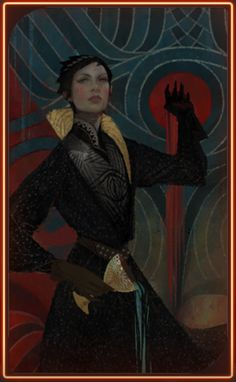 Dragon Age Inquisition: Cassandra Pentaghast Tarot Card - Romance