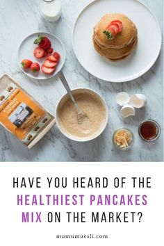 Our complete healthy pancakes mix is scrumptious! We use organic & healthy ingredients that will turn your Breakfast into a Celebration! High Energy Foods, High Fiber Foods, Easy Meals For Kids, Kids Meals, Breakfast For Kids, Vegan Breakfast, Breakfast Ideas, Healthy Pancake Mix, Healthy Eating Facts