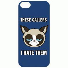 Grumpy cat iPhone case
