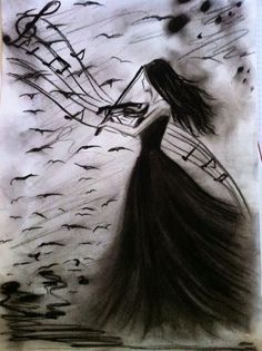 Bianca Paraschiv Drawings Gothic