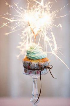 sparkles cupcake