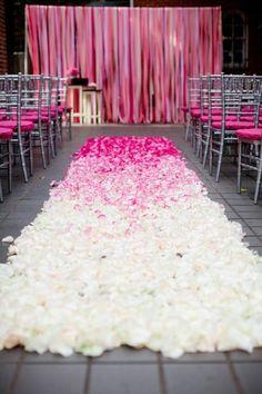 #ceremony decorations #wedding ceremony #aisle decorations