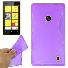 Funda Lumia 520 - Gel Sline Violeta  $ 33,62