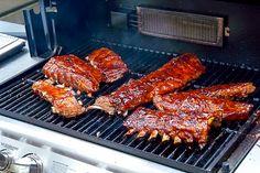 Bourbon Barbecue Ribs