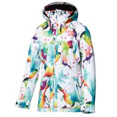 Roxy Wildlife Insulated Snowboard Jacket (Women's) | Peter Glenn