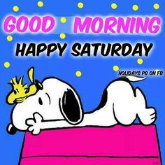 Snoopy - Happy Saturday