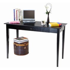 Found it at Wayfair - Wood Writing Desk /Utility Table