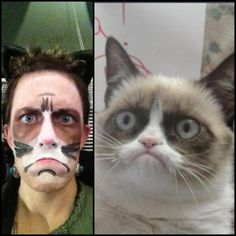 Trying to capture the essence of Grumpy Cat is like trying to duplicate the Mona Lisa's smile. Impossible!