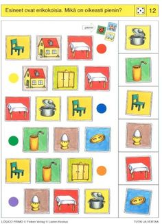 Piccolo: dobbelsteen kaart 12 Visual Perception Activities, Montessori Activities, Projects To Try, Teaching, Education, Holiday Decor, Special Education, Vision Therapy, Cousins