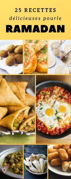 Recettes : Que cuisiner pendant le Ramadan ? Plats Ramadan, Eid Food, Ramadan Recipes, Everyday Food, Ratatouille, Smoothie Recipes, Food Art, Entrees, Food And Drink