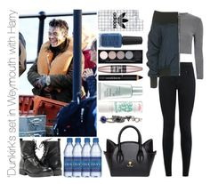 """'Dunkirk's set in Weymouth with Harry"" by michaelssmile ❤ liked on Polyvore featuring Glamorous, New Look, Topshop, Paolo Shoes, Casetify, Kester Black, Witchery, Maybelline, Givenchy and Estée Lauder"