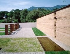 Friedhof Schlins | Loam Clay Earth, Martin Rauch, Vorarlberg