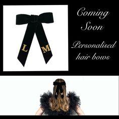 Website launching soon!! Hand embroidered velvet hair bows #hairribbon #hairstyles #blackbow #hairbowsforsale #embroidery #hairbows #velvet Hair Bows For Sale, Black Hair Bows, Velvet Hair, Hairbows, Product Launch, Hairstyles, Embroidery, Website, Haircuts