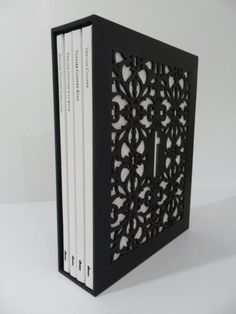 laser cut slipcase for book(s)