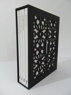 laser cut slipcase for book(s)