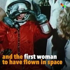 First Woman In Space: Russian Communist Valentina Tereshkova | موفيز هوم  On #WomensHistoryMonth we recognize the life of Valentina Tereshkova a Russian cosmonaut and politician who in 1963 became the first woman to fly in space.