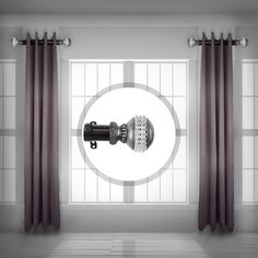 Rod Desyne is pleased to introduce our side mount curtain rod. This side mount curtain rod will add alluring style and refined touch to your window treatment and home decor. Also Available one inch Side Rod. Short Curtain Rods, Window Curtain Rods, Drapery Rods, Hang Curtains Like A Pro, Hanging Curtains, Panel Curtains, Curtain Panels, Modern Window Treatments, Window Treatments Living Room