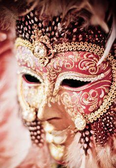 Venetian Carnival Mask by Juletty,