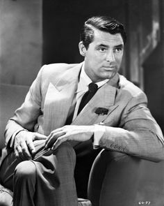 """""""Men don't find many men appealing, but Cary was attractive to everybody. Men wanted to look, dress, and be like him, but they couldn't."""""""