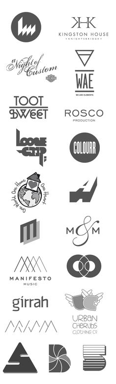 Logos and Logotypes by Ross Gunter