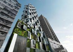 Composite Building by Aedas - Hong Kong