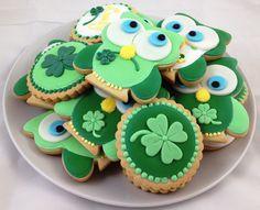 Biscuits de la St-Patrick /  St-Patrick's Day cookies