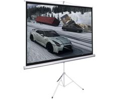 """#ebay New Portable 100"""" Projector 16:9 Projection Screen Tripod Pull-up Matte White - $61.99 (save 15%) #consumer #electronics #office"""