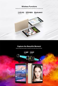 Original Box Teclast M89 MT8176 Hexa Core 2.1 GHz 3G RAM 32G ROM 7.9 Inch Android 7.0 OS Tablet Computers, Core, Android, The Originals