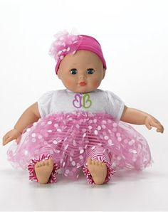 My girls love that this baby talks back to them!!!  Madame Alexander's Babble Baby is the Perfect Size for Little Hands! @MadameADoll