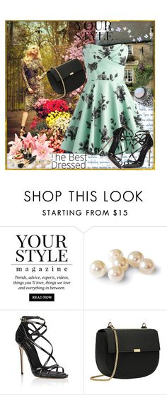 """""""Mint Printed Dress"""" by sirena39 ❤ liked on Polyvore featuring PATH, Pussycat and Dolce&Gabbana"""