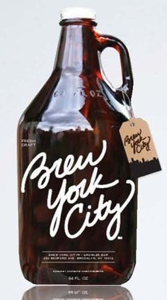 I love good beverages - beers or teas or whatever - that come in growlers.  Great for parties.