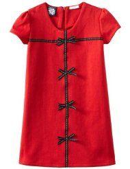 So La Vita Girls 2-6x Grosgrain Bow Zipper Back Dress  $34.99 $27.99