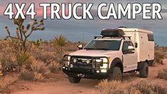 EarthCruiser EXD Overland Truck Camper on Ford Truck. Overland Truck, Overland Trailer, Expedition Vehicle, Diy Camper, Truck Camper, Camper Trailers, Campers, 4x4 Trucks, Ford Trucks