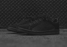 "adidas Stan Smith Primeknit In ""Triple Black"" - SneakerNews.com"