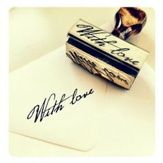 With Love ~ Stamp