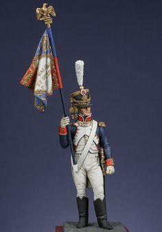 Standard bearer 1808, France.