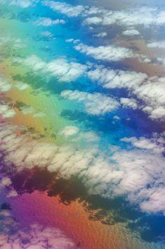 #keen #clouds #rainbow